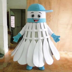 Fabbrica diretta Make EVA Materiale Casco Tre mascotte di badminton Costumi Cartoon Apparel Festa di compleanno Masquerade