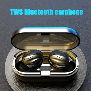XG13 TWS bluetooth earphone headset headphone Wireless stereo Twins In-Ear headset compact factory new product With Charger Box LED Display