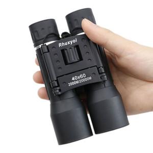 2020 Nuovo 40x60 binoculare dello zoom Campo Grande occhiali palmare Telescopi DropShipping caldo di vendita professionali marche potenti binocoli