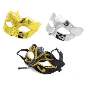 Hohe Qualität der neuen bunten Half Face Archaistic Antike Klassische Masken-Maskerade-Partei-Schablonen DHL-freies H094 Verschiffen 210