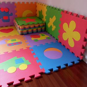 Pacchetto 10Pcs Baby Puzzle Mat Bambino Giochi Mat Floor Puzzle Mat EVA bambini Schiuma tappeto musivo Piano tappeti gioco 4 Stile PX10 T191111