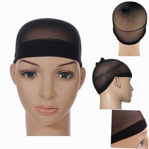 Unisex peruk kapaklar Çorap tipi net kap NET şapka Stocking Peruk Astar Kap Snood Naylon Streç Saç Fileleri Örgü Peruk aksesuarları Aracı 5000 Adet / grup