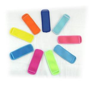 네오프렌 팝 시클 홀더 아이스 아이스 슬리브 냉장고 팝 홀더 18 * 6cm 어린이 여름 주방 도구 10 색