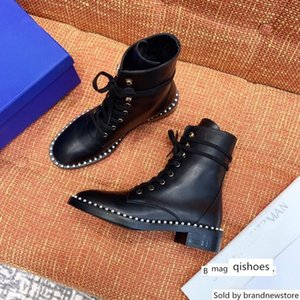 Best-selling designer winter booties women s ankle comfortable leather Martin boots high quality ladies shoes