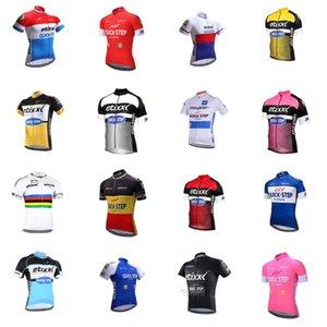 QUICK STEP équipe cyclisme maillot manches courtes cyclisme hommes jersey manches courtes rapide Jersey sec Ropa Ciclismo vélo B611-56 vêtements