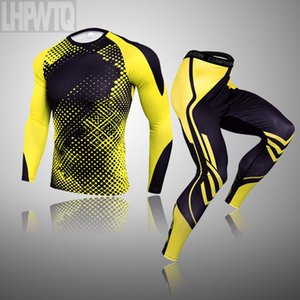 Men's Running sets Men Sport T Shirt Gym T-Shirt Men Compression Tight Fitness Top Bodybuilding Fitness Tights clothing