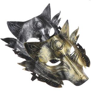 Halloween Horror Full Face Mask взрослых мужчин и женщин Оборотень убийство Маска Волчья Голова Маскарад Horror