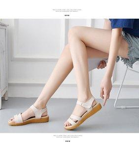 0722hzd222 новые Популярные на открытом воздухе прогулочные плоские тапочки мужские сандалии женские летние прохладные пляжные сандалии с коробкой