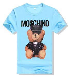 MOSC Magliette da uomo firmate di alta qualità commes des garcons camicie di cotone cuore rosso tees uomo donna moda navy t-shirt manica corta