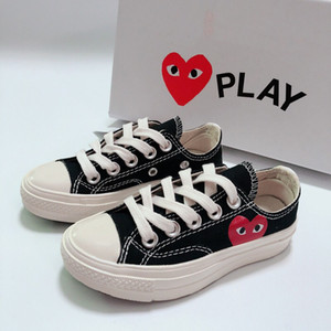 kids shoe Big Eyes Play Chuck 70 Multi Heart 70s Hi Canvas Skate Shoes Classic 1970s Canvas Shoes Jointly Name skateboard children shoes