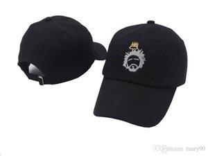 No estructurado papá Born Sinner personalizado gorra de J. Cole Nación TDE Nueva-White w tapa / Oro Sinner Corona para los hombres las mujeres gorra de béisbol del hueso