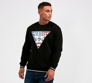 Luxury 2019 горячей продажи Спортивная одежда Пальто Jogger Tracksuit пуловер ватки фуфайки Экипаж шеи Толстовка Мужчины толстовки