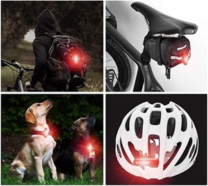 Multi-function Safety Warning Lamp Lighting Modes Bicycle Light USB Charge Led Bike Light Flash Tail Rear Bicycle Lights For bikes