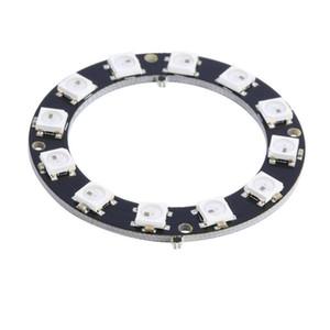 5050 12-Bit lampadina LED Anello WS2812 rotonda decorazioni RGB perfetto per Arduino 15
