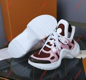 Louis Vuitton Shoes 2020 Novos Designers Mens Womens Shoes Sneakers Archlight Sneakers Arch Walking Dress Shoes Chaussure hococal