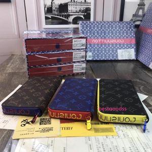 M60017 New Large Zip Purse Classic Men S Wallets Clutch Bags Wallets Purse Mini Clutches Exotics Evening Chain Belt Bags