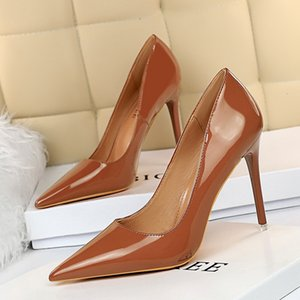 Summer Pumps Shoes 2020 Fashion Solid Color Casual Open Toe Super High Heel Fish Head Pumps Size 34-40 Women Female PU Sandals w3211