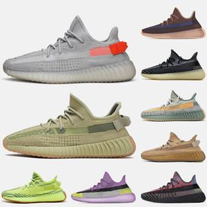 des chaussures boost 350 v2 kanye west Chaussures de course queue lumière soufre yecher asriel israfil abez eliada cinder hommes formateurs femmes baskets