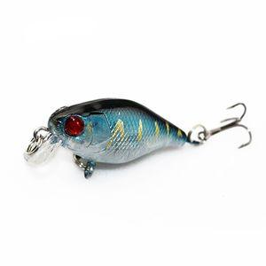 4 cm 4.2g Flash Schwimmen Fischköder Künstliche Harte Kurbel Köder Wobbler Japan Mini Fishing Crankbait Lure Pesca