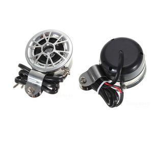 2 stücke auto Motorrad audio player horn Motorrad wasserdichte sound horn lautsprecher verstärker sound horn