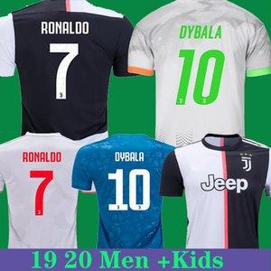 Cristiano Ronaldo soccer Jersey Juventus jersey 4th DYBALA BUFFON MANDZUKIC DE LIGT thailand 19 20 football shirt kit kids soccer uniform