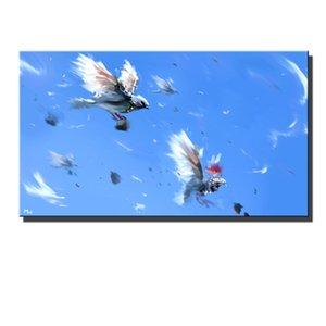 Animaux Oiseaux, toile HD Home Decor Art Painting (sans cadre / encadrée)