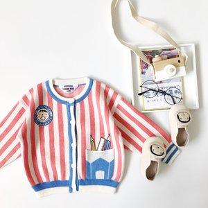 Tonytaobaby otoño e invierno viste la nueva para niños de punto suéteres de los niños suéter suéter de las muchachas