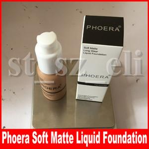 PHOERA 10 Colours основа для макияжа лица корректор контура глаз крем жидкий тональный крем корректирующая грунтовка крем для макияжа