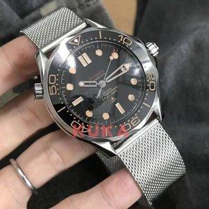 No Time to Die Luxury men watch Limited Edition Skyfall Mens Master James Bond's 007 Diver 300M Watches 50th Designer Steel band Wristwatch