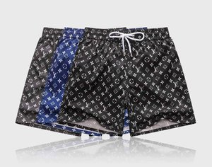 Men's Summer Shorts Pants Fashion Casual Beach Pants Letter Printed Drawstring Shorts 2020 Loose Homme Luxury Sweatpants