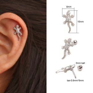 Sellsets 6 8 10mm Cz Nose Hoop Helix Cartilage Earring Daith Snug Rook Tragus Ring Ear Piercing Jewelry The Body Art The Body Art Shop From Pingwang6 166 82 Dhgate Com