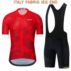 2020 Vêtements de vélo Maillot vélo rapide vêtements secs Hommes de vélos été équipe etixxl cuissard gel Cyclisme Maillots ensemble