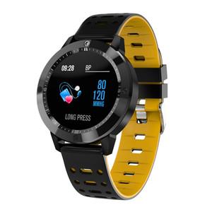 Relógio inteligente CF58 Com Monitor de Freqüência Cardíaca de Pressão Arterial de Oxigênio No Sangue Equitação Natação Rastreador Sports Telefone Companheiro relógio inteligente ip67