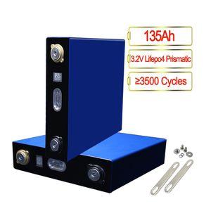 3.2V 135AH 2C Lifepo4 cellules prismatiques batterie pour le bricolage 4S 12V 8S 24V 12S 36V 16S 48V 20S 60V Paquet