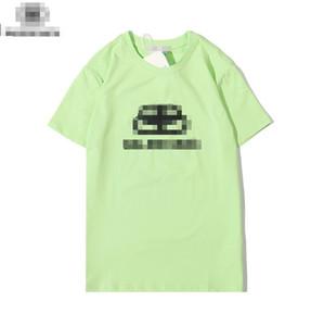 2020 nueva llega para mujer para hombre camisetas de moda de verano de los hombres WomenTop camisetas camiseta de manga corta de la primavera impresión de la letra T Shirt 20060602D