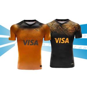2019 2020 JAGUARES Un hogar lejos de rugby jerseys Liga 2019 JAGUARES Un hogar lejos de rugby jerseys Liga camisa de leopardo jaguares tamaño S-M-L-XL-XXL-3XL