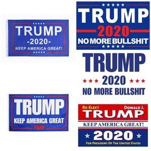 US Trump 2020 Bandeira Bandeira Dupla Face bandeiras eleitorais Impresso Keep America Great Again decorativa Banners para o presidente EUA 90 * 150 centímetros 17tk Zz