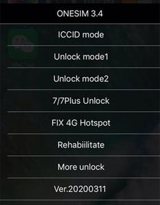 Свободный DHL New ONESIM / GNSIM / GPLTE Разблокировка Sim карта для IOS 13.x США / T-Mobile, Sprint, Fido, DoCoMo другой Carrieres Turbo SIM Gevey