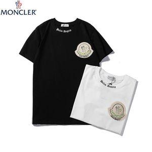 2020 moda Erkekler Kadınlar Lüks Gömlek Yaz Erkek gündelik Designered Tişört Kısa Kollu Üst Tees Hip Hop Erkek Giyim q14