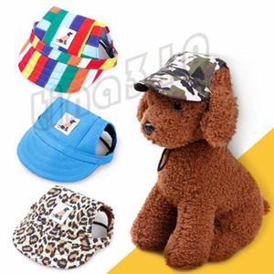 الكلب الأزياء والاكسسوارات والمجوهرات الحيوانات الأليفة الحيوانات الأليفة القبعات الساخن بيع الحيوانات الأليفة قبعة بيسبول تيدي بطة قبعة اللسان T9I0011