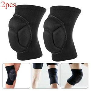 2PC Knee Pads Kneepad Knee Brace Support Protector Football Volleyball Sport Pad