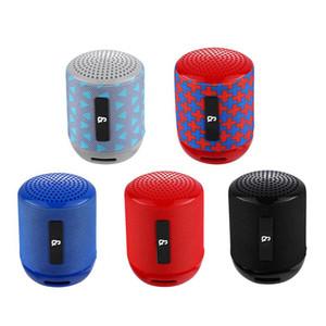 TG129 미니 휴대용 블루투스 스피커 무선 서브 우퍼 스테레오 고음질 사운드 박스 핸즈프리 FM TF의 USB AUX 야외 스피커 오디오 플레이어 CHARGE