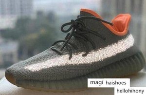 Kanye Sneakers V2 Yecheil Yeehu Static Men Running Shoes Glow Dark Antlia Synth Women Tailgate Reflective Yeshaya Earth Desert Sage Kan278b#