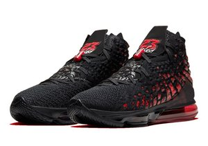 أطفال ليبرون 17 أحذية الأشعة تحت الحمراء للبيع الشحن مجانا 2020 الرجال جديدة للنساء أحذية كرة السلة تخزين US4-US12
