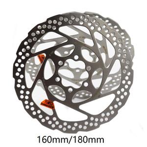1 Pcs vélo Disque de frein VTT Float frein flottant disque Rotors 160mm / 180mm Plaquettes de frein hydraulique flotteur Rotors vélo Pièces