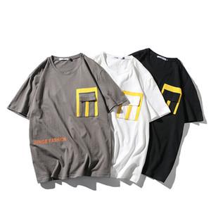 Fashion Printed T-shirts Men 100% Cotton 2020 Summer mens o-neck t shirts men tee shirts 5XL