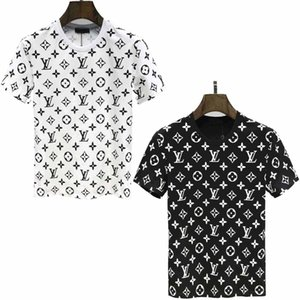 Mens Designer T-Shirt Summer Men's Fashion Letter Print T-Shirt Cool Short Sleeve Round Neck Medusa Shirt Top