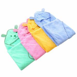 Cartoon Badetuch Mantel Schwimmen Badetuch Babys Kinder nette Handtuch Baumwolle