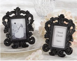 New Arrival Wedding favor Picture frame Personality Baroque photo frame place card holder in white box