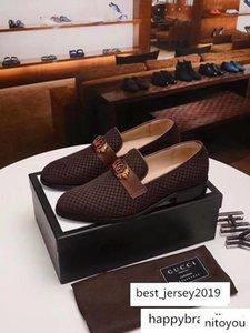 19ss 3 Colour Leather Tap Dance Designer Man Dress Shoes Slip-on Oxford Luxury Men s 38-45
